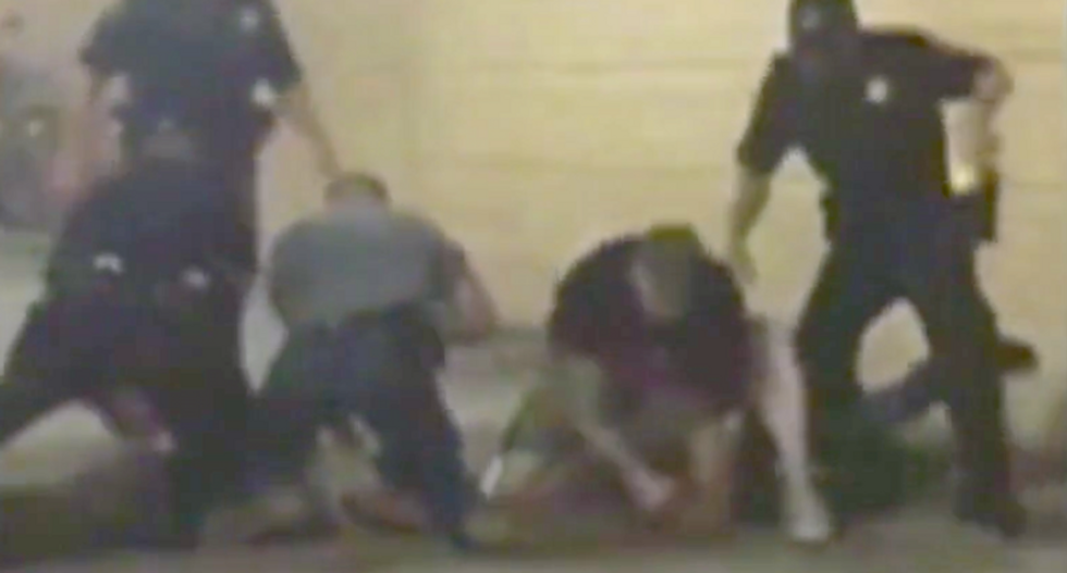 Pittsburgh cop caught on video violently slamming suspect's head onto the ground