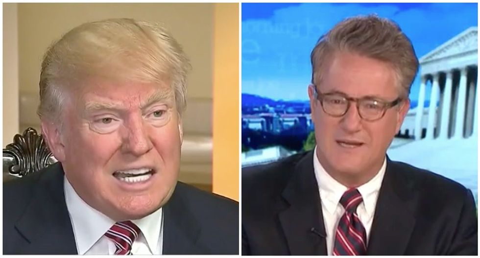 Trump's long history of racism busted in damning Morning Joe supercut video