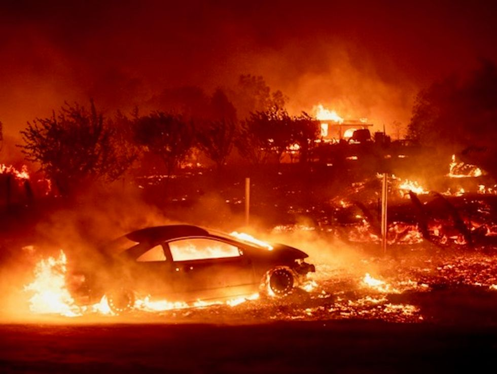 Ohio county GOP chair doubles down on Facebook post calling wildfires 'God's punishment to liberal California'