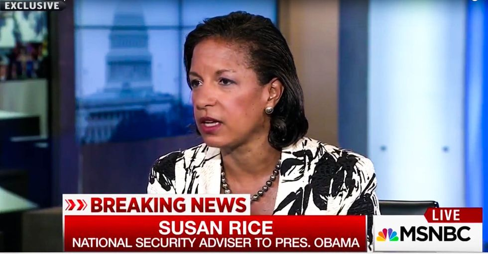 Rice told investigator she unmasked members of the Trump team after clandestine meeting with UAE crown prince