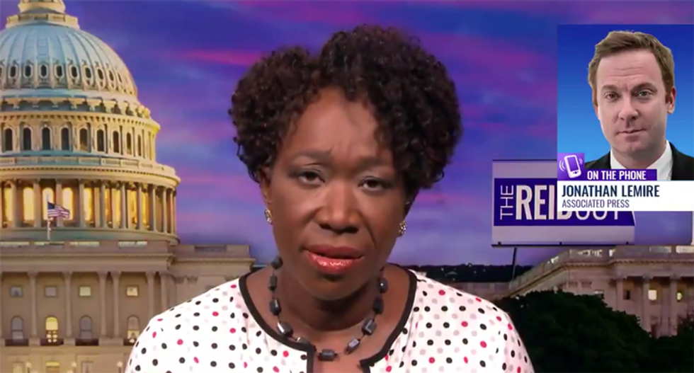 Joy Reid rips Trump's event at Bedminister Golf Club: 'This is not a press conference'