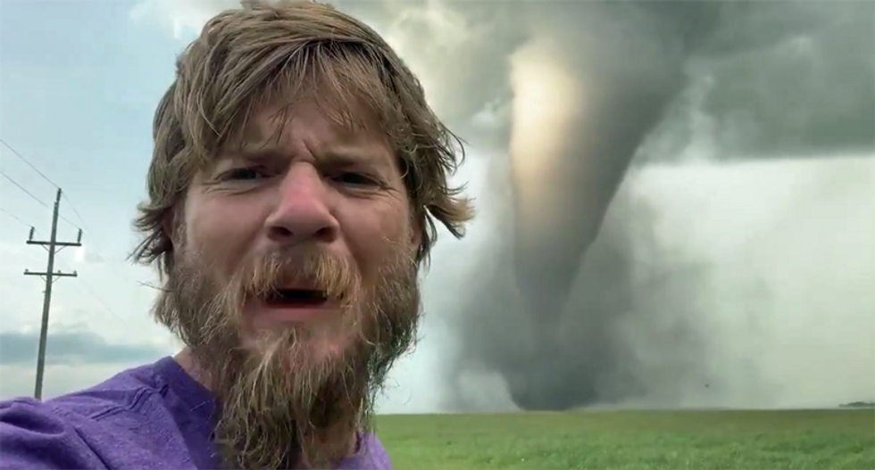 WATCH: 'Incredible tornado' caught on tape by storm chaser