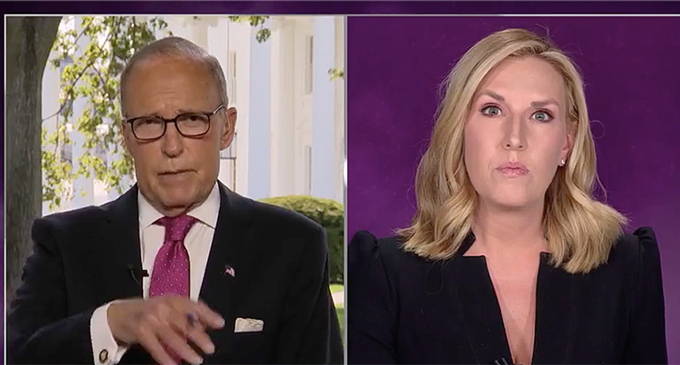 Larry Kudlow whines after CNN's Harlow fact-checks him in real time: 'I resent your little nitpicking'