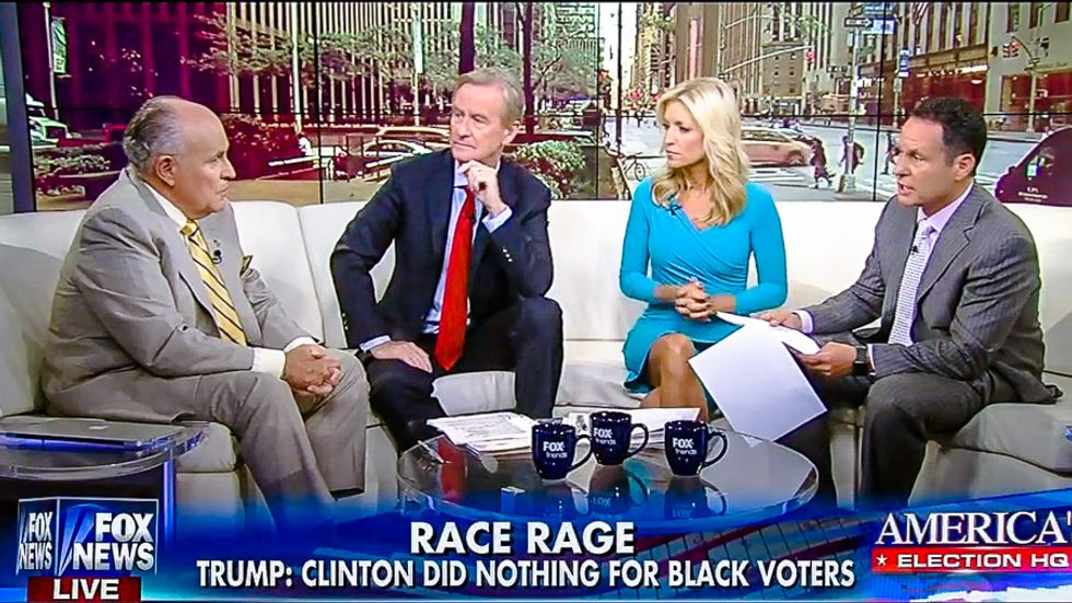 All-white Fox panel: Speech to all-white Wisconsin crowd shows Trump is 'not ignoring' black voters