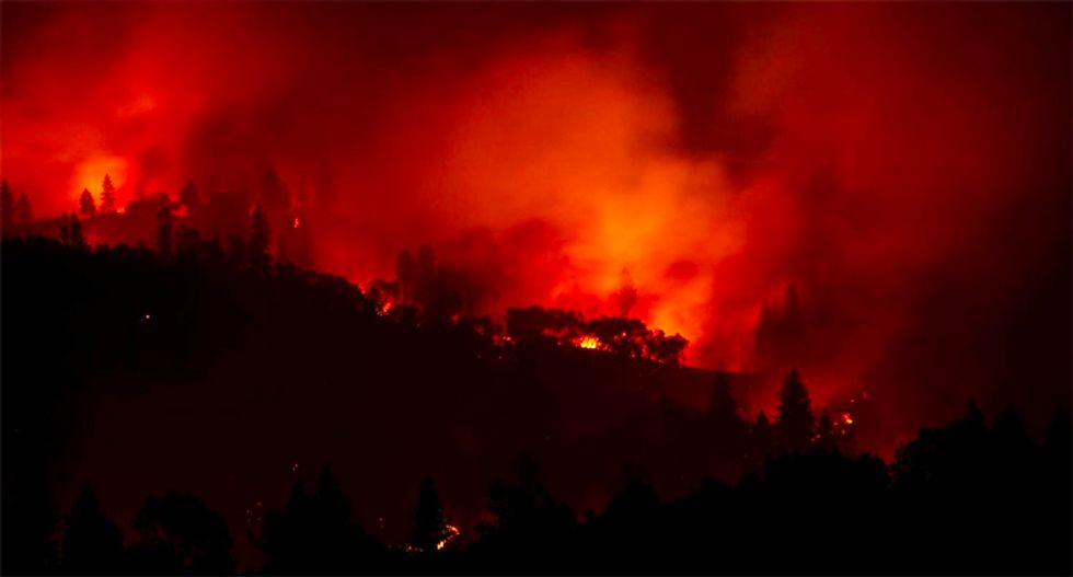 'Forest fires cannot melt steel beams': Deadly California disasters give birth to new conspiracy theory