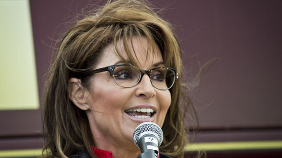 GOP lawmaker calls on Sarah Palin to lead new party to replace Republicans