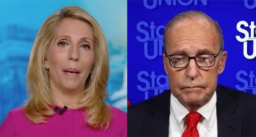 'We need a reality check here': CNN's Bash cuts off Kudlow's rambling spin on Trump's unemployment plans