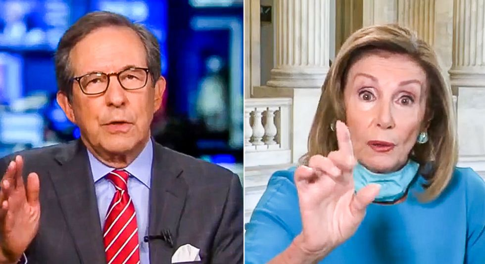 Nancy Pelosi owns Chris Wallace: 'Clearly you don't have an understanding of what is happening here'