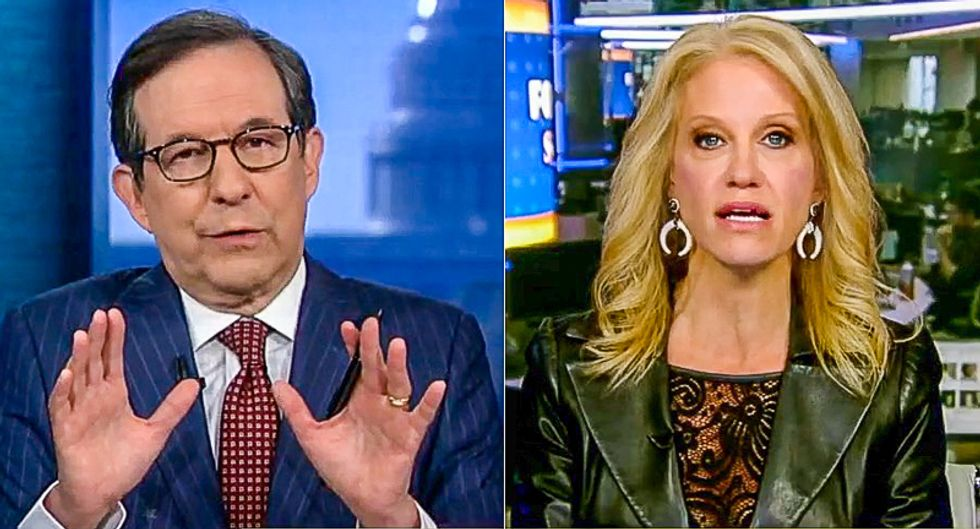 Kellyanne Conway incoherently defends 'doctored' video of CNN's Jim Acosta: 'They do it all the time in sports'