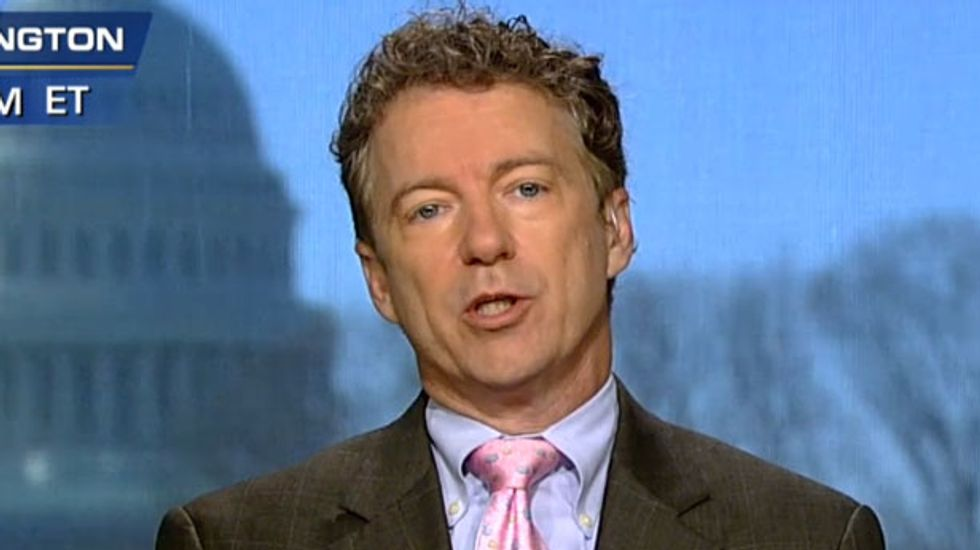 Rand Paul backs bill that could lead to crack down on states where voters legalized weed