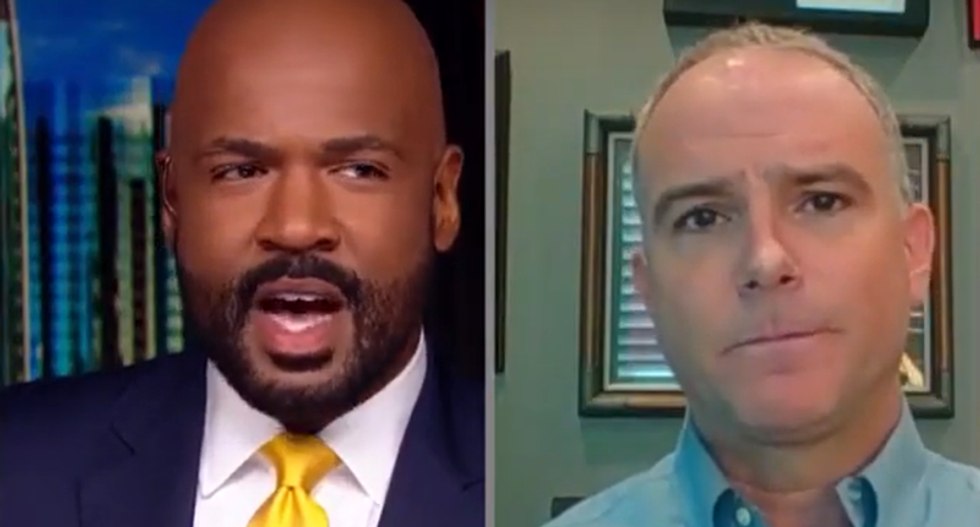GOP strategist shut down by CNN's Blackwell for fear-mongering about deficits after Republicans handed out tax cuts to the rich