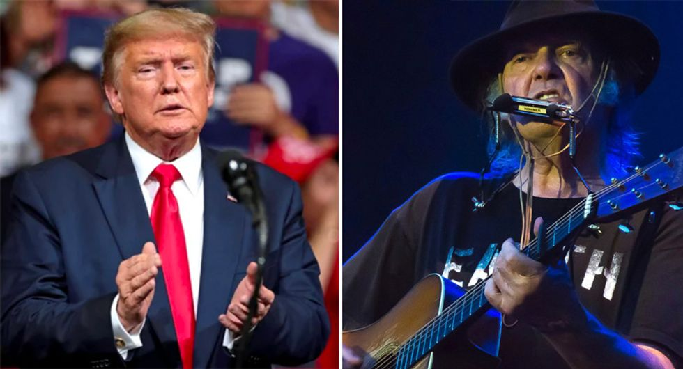 Neil Young's lawsuit against Donald Trump will drag the president into uncharted waters: report