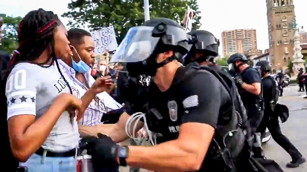 Militarizing the police makes them more violent