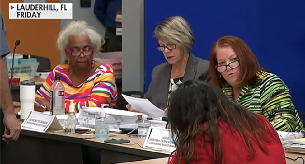 Palm Beach County official admits 'it's impossible to finish counting' Florida ballots by the Thursday deadline
