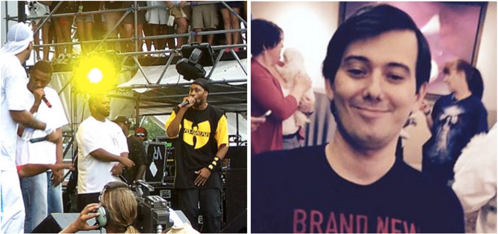 Wu-Tang Clan rips Pharma Bro Martin Shkreli a new one on diss track 'Lesson Learn'd'