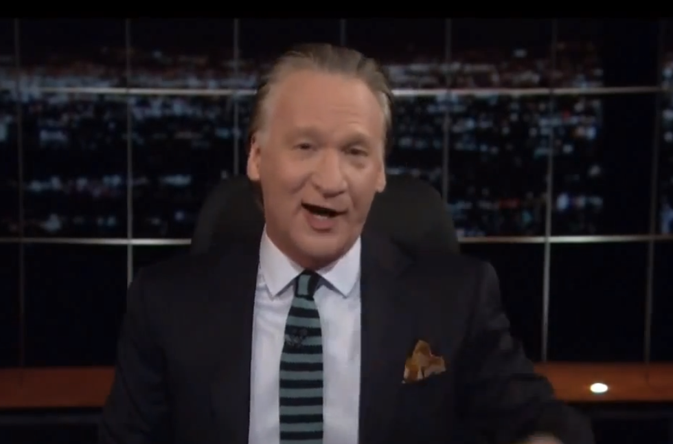 Bill Maher: Watch 'Cosmos' twice. 'Once baked and once straight' because it's 'good both ways'
