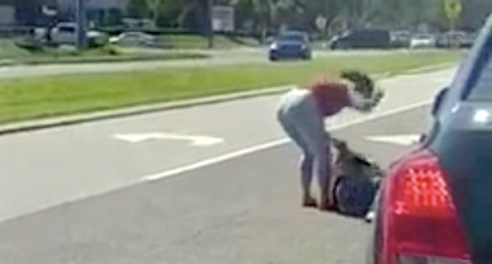 WATCH: Florida woman and stepmom beat woman unconscious in 'pure rage' attack