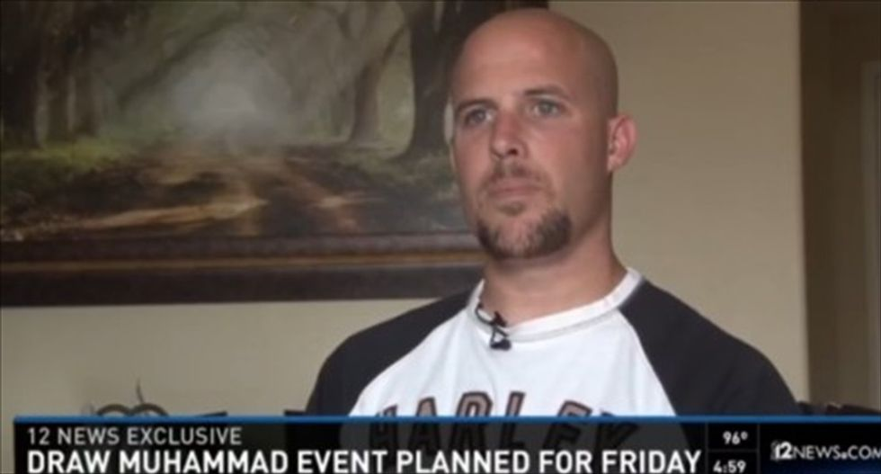 Arizona anti-Muslim rally organizer defends selling 'F*ck Islam' shirt: 'I'm a Marine' and I'm not politically correct