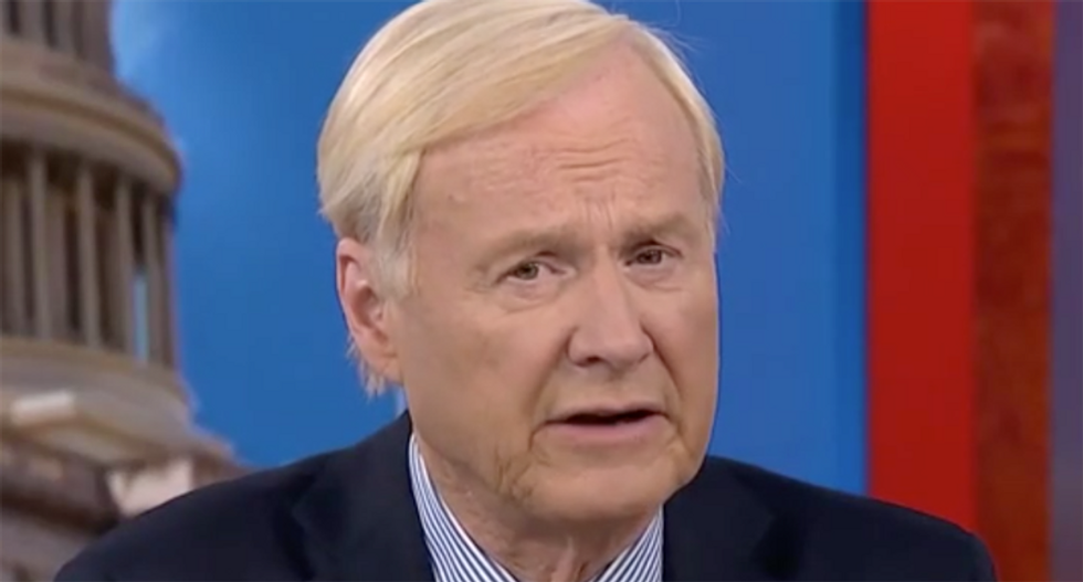 'It's about time': Internet celebrates Chris Matthews leaving MSNBC after GQ published #MeToo expose