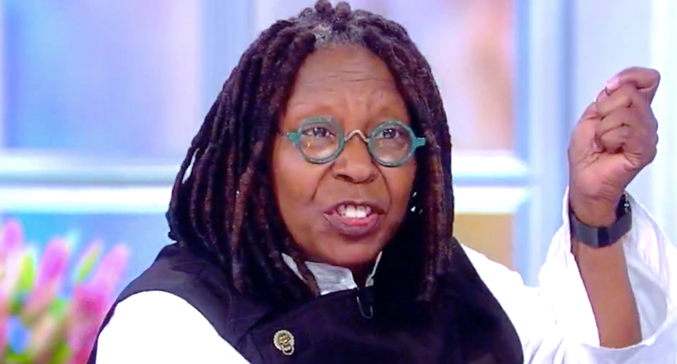 The View's Whoopi Goldberg 'freaked out' by Trump's wildfire tweets: 'What the hell, man?'