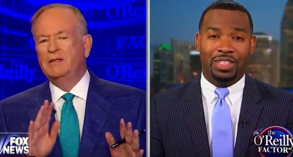 Fox's O'Reilly gets slapped down hard for 'whitesplaining' why blacks should vote for Trump