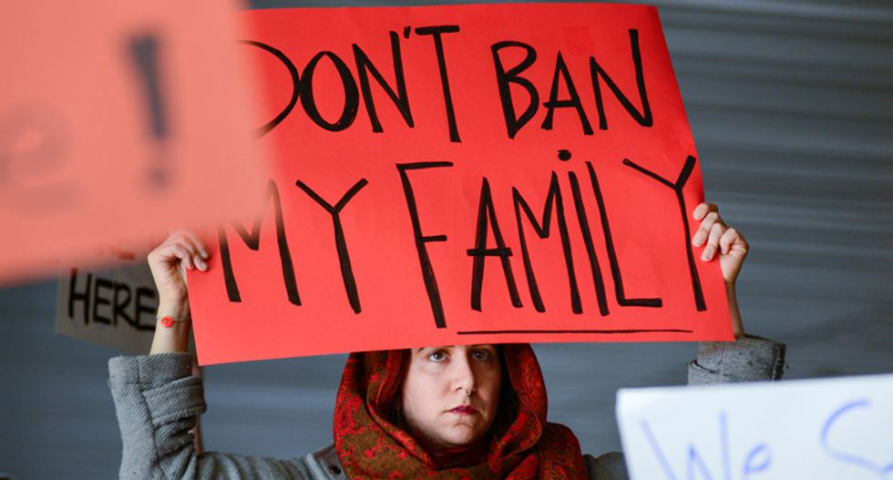 Chaos, anger as Trump order halts some Muslim immigrants