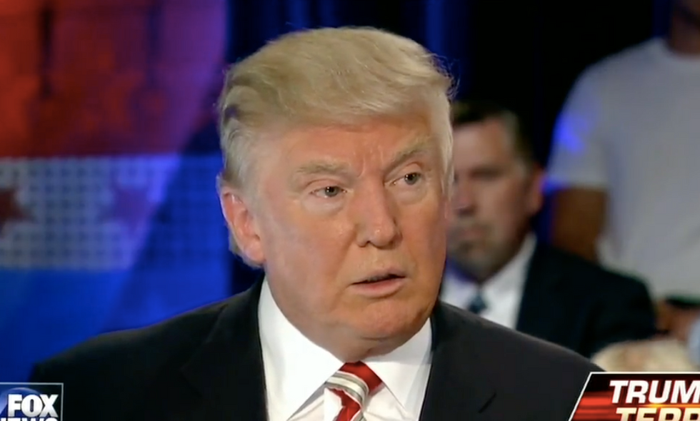 Trump-endorsing police union turns on him for saying cop 'choked' in Tulsa shooting