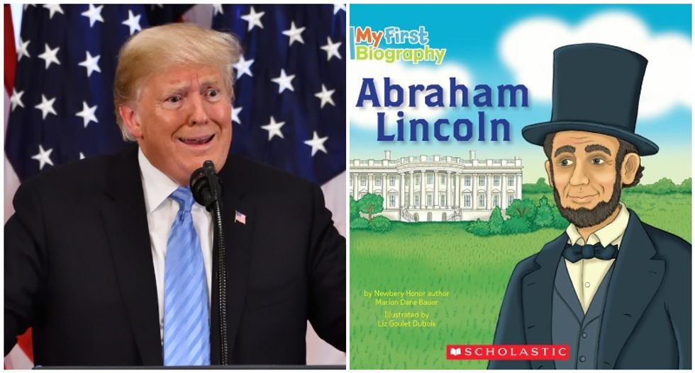 Trump has never even read a 'children's book' about Abraham Lincoln: presidential historian