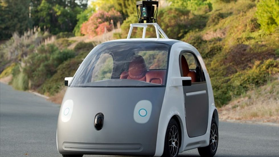 Google unveils self-driving cars that don't need steering wheels or brake pedals