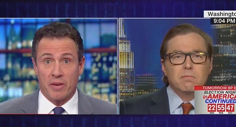 'He didn't have a damn bit of proof': CNN's Chris Cuomo schools Rick Scott advisor still claiming 'voter fraud' in Florida