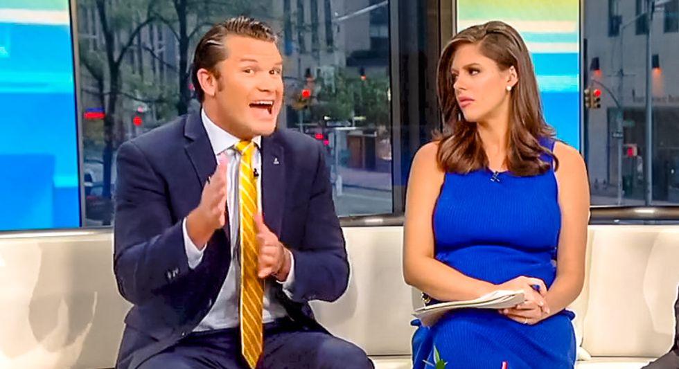 Fox & Friends host slips: Trump's North Korea summit is a 'historic meeting between two dictators'