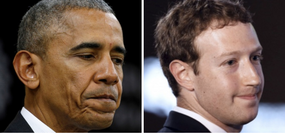 Obama warned Zuckerberg about danger of fake news on social media: report