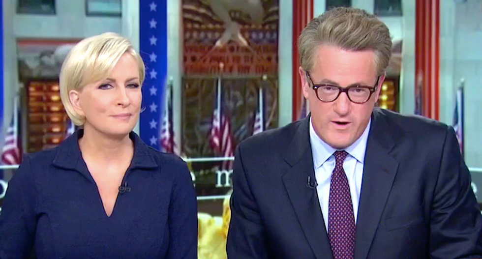 MSNBC's Joe and Mika rip Trump's racist NFL threats: 'He's putting this country in a horrible place'