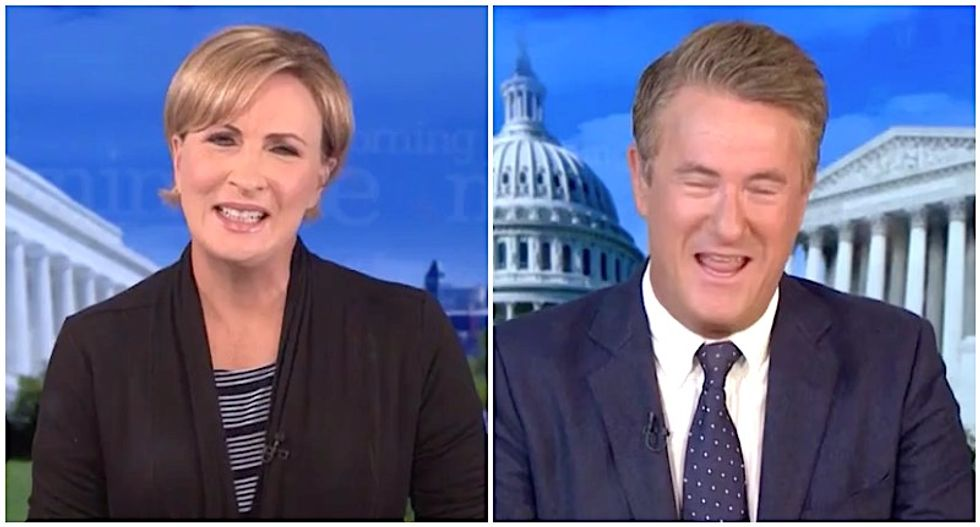 'What a joke': MSNBC's Morning Joe and Mika destroy White House 'chicanery' on health care