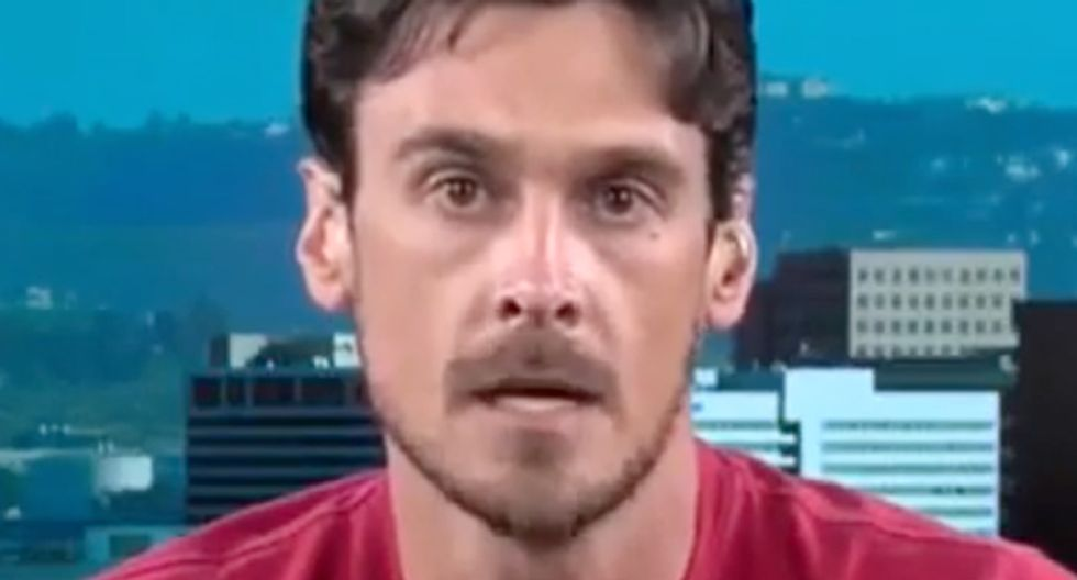 'We're not going to be dictated to by a racist, fascist white supremacist': Ex-NFLer Chris Kluwe blisters Trump