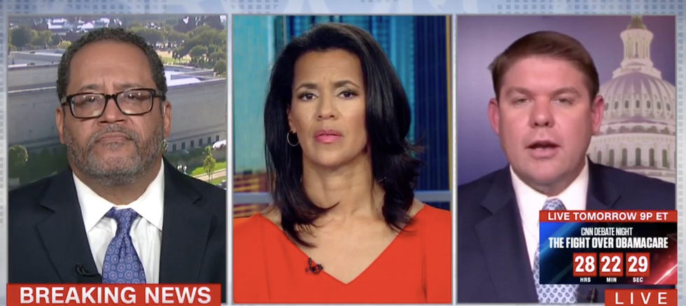 Michael Eric Dyson rains hell on CNN conservative over anthem protests: 'Let me finish, sir!'