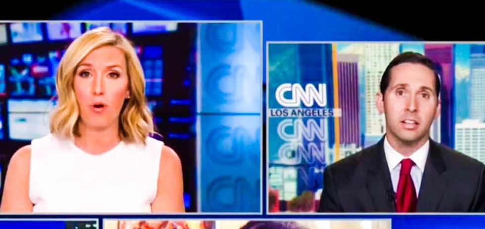 CNN host grills Trump supporter for claiming NFL owners secretly back president but fear players will 'riot'