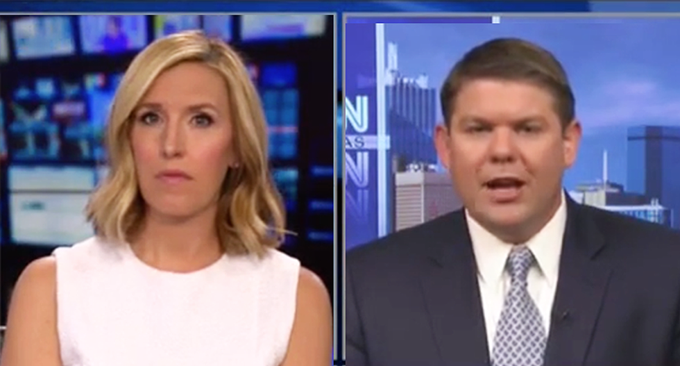 Conservative's defense of Trump quickly implodes after CNN host points out president's own words