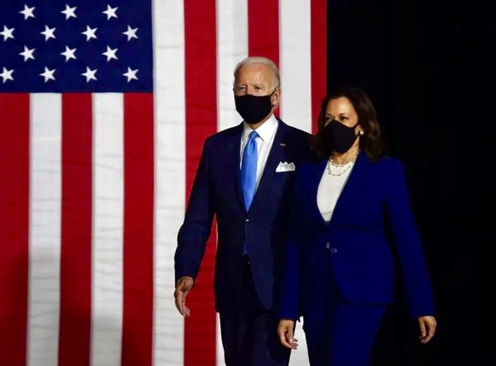 Kamala Harris vows Joe Biden will never place conditions on US military aid to Israel