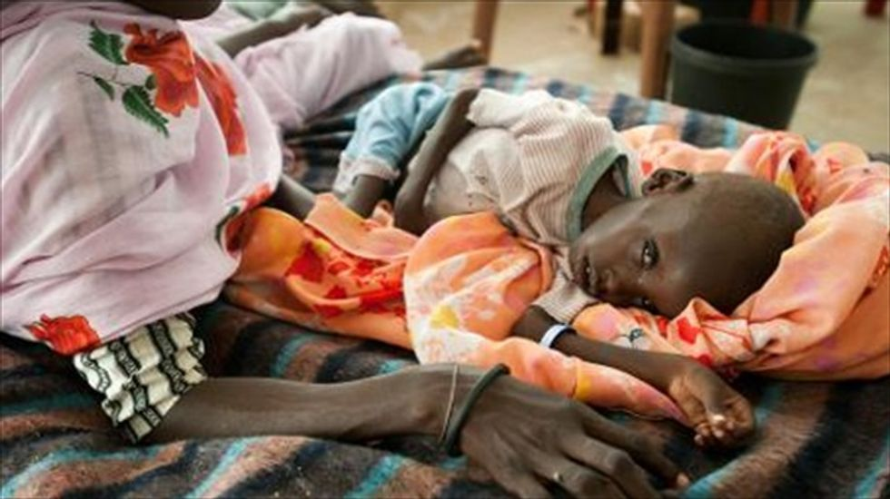 UN warns of world inaction as South Sudan famine looms