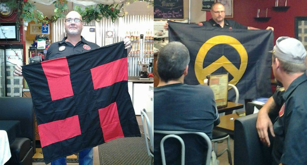 White supremacist fired after tricking Arkansas cafe into hosting a right-wing extremist meetup