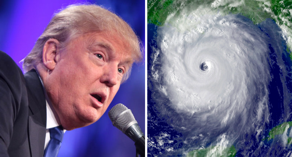 Trump warned he is 'playing with fire' by taking away FEMA money during hurricane season