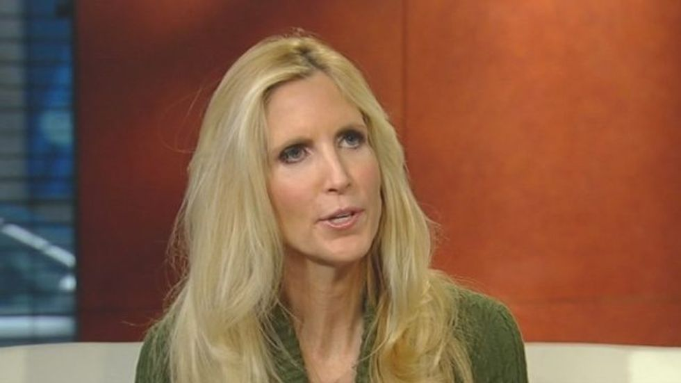 Ann Coulter: Single women wanting birth control 'look at the government as their husbands'