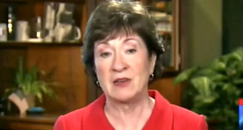 Sen. Susan Collins says she's still undecided on final tax vote -- even after her demands were stripped from the bill