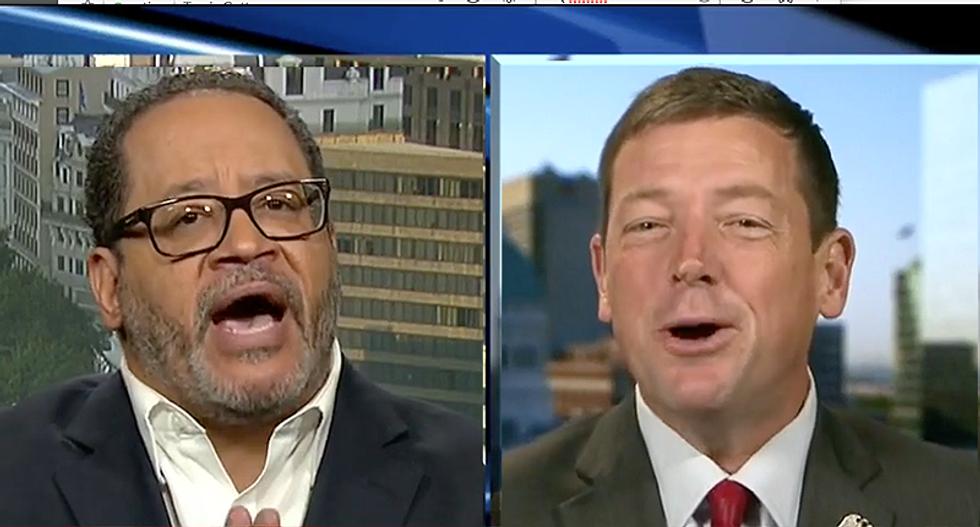 WATCH: Trump backer flips out when Michael Eric Dyson compares Kaepernick to Thomas Jefferson