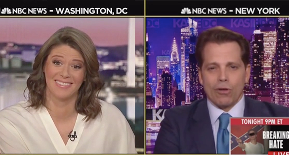 MSNBC host flabbergasted after Anthony Scaramucci tells 'both sides' to be nicer to Trump people