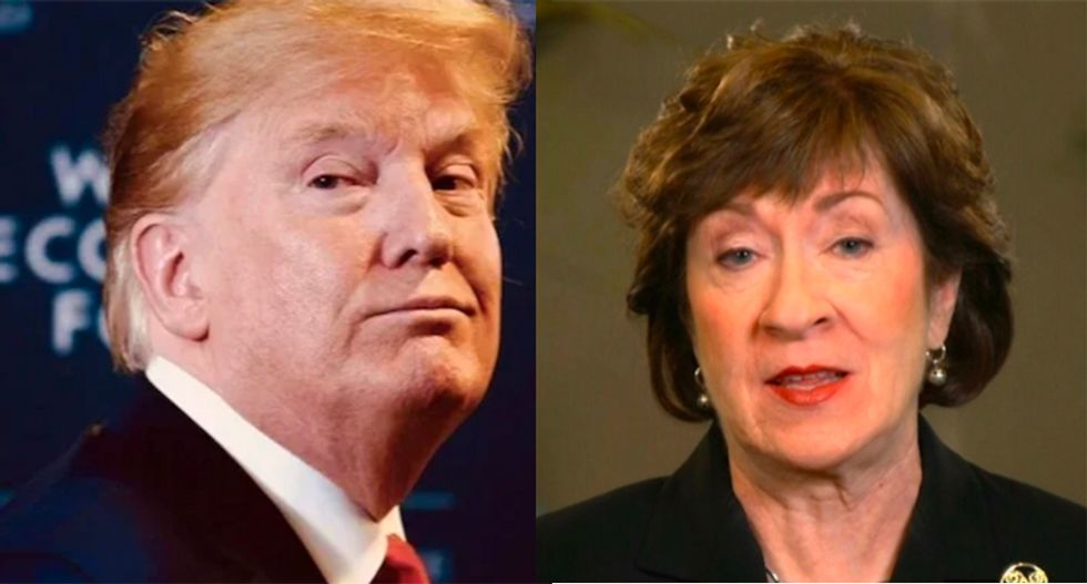 Morning Joe ridicules Susan Collins after Trump makes her look like a fool again