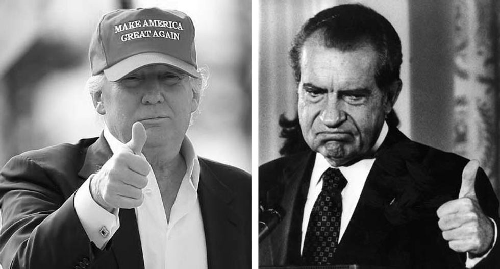 Trump's approval numbers are similar to Nixon's before he resigned -- and they're about to get worse: CNN analyst