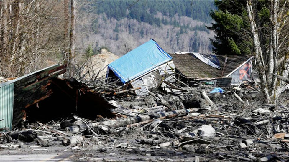 More than 100 missing persons reports filed after Washington state mudslide
