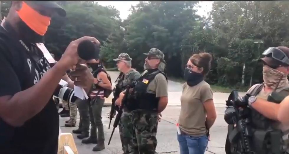 'Go home, racists!': BLM counterprotesters shout down white nationalists in Stone Mountain, Georgia